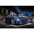 マイナーチェンジを受けた「AMG GT Cロードスター」。新しいデザインのヘッドライトを採用し...