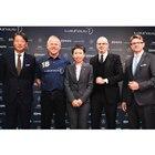 発表会には、ローレウス協賛企業の代表者も参列。左からメルセデス・ベンツ日本の代表取締役兼CEO...