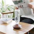阪和、コンパクトなペットボトル式加湿器「-wood- PR-HF017」