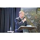 日本グッドイヤーの金原雄次郎社長は、同社が2018年も堅調な伸びを見せたことを説明した。