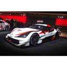 東京オートサロン2019の会場で世界初公開された「GRスープラ SUPER GTコンセプト」。