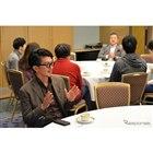 ホテルニューオータニ幕張の小宴会場でチーフデザイナーの土田康剛氏を囲む