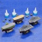 海洋堂、「miniQ ワールドシップデフォルメ」の第3弾「幻の空母・信濃と航空機搭載護衛艦編」