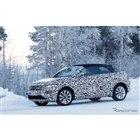 VW  T-ROC カブリオレ スクープ写真