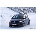 VW ID. ブランドの新型クロスオーバー車プロトタイプ(スクープ写真)