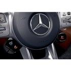 ステアリングホイールのスポーク付け根には、「AMGドライブコントロールスイッチ」と名付けられた...
