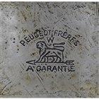 プジョーブランドのロゴ(1810年)当初は時計用の部品や工具などの製造をおこなっていた。