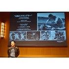 発表会では、トライアンフ モーターサイクルズ ジャパンの野田一夫代表取締役社長があいさつに立ち...