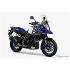 スズキ Vストローム1000XT ABS パールビガーブルー/パールグレッシャーホワイト