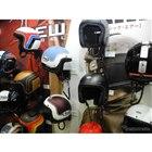 アライヘルメットの製品群