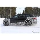 アウディ RS4アバント 改良新型(スクープ写真)