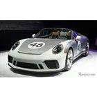 ポルシェ 911 スピードスター 新型のヘリテイジデザインパッケージ(ニューヨークモーターショー2019)