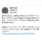 「iOS 12.3」