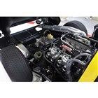 「ダイハツ・コンパーノ」に搭載されていた1リッター直4の排気量を1.3リッターに拡大し、DOH...