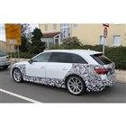 アウディ RS4アバント 改良新型 スクープ写真