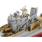 タミヤ、甲板/砲身などを作り込む「1/350 日本駆逐艦 雪風 ディテールアップセット」