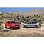 BMW X4M(向かって左)とX3M
