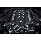 最新の4.4リッターV8ツインターボエンジンは、最高出力530ps、最大トルク750Nmを発生する。