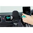 静電タッチセンサーと赤外線センサーを用いた電動オートホールドを搭載