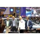 ダイハツ奥平社長とコンセプトカー「HY FUN」(インドネシア国際オートショー2019)