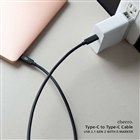 cheero Type-C to Type-C Cable USB 3.1 G2 with e-Marker CHE-258-BK