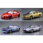 AOSHIMA、日産「幻のケンメリ」「トップシークレット BNR34」など9月再生産モデル