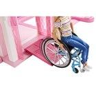 車椅子に乗ったバービーがシリーズ初登場、ピンクのスロープ付き