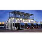 メルセデスベンツ eシターロ 向けの新コンセプトの充電ステーション