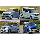最新軽自動車4車種スペック比較…Nワゴン、タント、eKクロス、デイズ