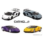 「Lamborghini Aventador SV White Pearl/Grey」「Lamborghini Centenario Yellow Pearl/Violet」