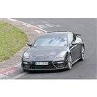 ポルシェ パナメーラ 高性能モデルの開発車両(スクープ写真)