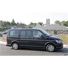 VW T7(仮)開発車両スクープ写真