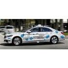 メルセデスベンツ Sクラス ベースの最新自動運転プロトタイプ車