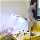 LEDライト付パワフルファン塗装ブース デラックス「BRUSHBT5」