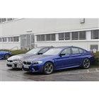 BMW M5セダン 次期型 プロトタイプ(スクープ写真)