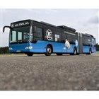ZFの電動ソリューションを搭載したバスのテスト車両