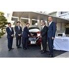 厚木市と日産自動車、電気自動車を活用した「災害連携協定」を締結