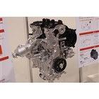 ハイブリッド用の1.5リッター直3エンジン。豊かなトルク特性を持ちながら、低燃費も両立させるという。