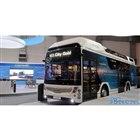 トヨタの燃料電池システム搭載のFCバス、カエタノ・バス社「H2.シティゴールド」(バスワールドヨーロッパ2019)