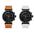 wena wrist leather Chronograph set white -ISSEY MIYAKE Edition-
