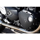 新ブラックパウダーコートのエンジンカバー