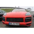 ポルシェ カイエンクーペ「GT」プロトタイプ車両(スクープ写真)