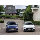 アウディ S6 セダン 新型と S7 スポーツバック 新型