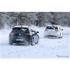 VW ゴルフGTI 開発車両 スクープ写真