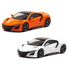 1/64 Honda NSX (NC1) 2019 Thermal Orange Pearl、1/64 Honda NSX (NC1) 2019 130R White