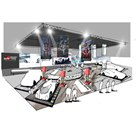東京オートサロン2020におけるTOYOTA GAZOO Racingブースのイメージ(全体)。