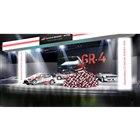 東京オートサロン2020におけるTOYOTA GAZOO Racingブースのイメージ(ステージ)。
