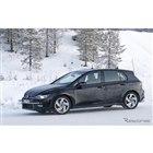 VW ゴルフ GTI 新型プロトタイプ(スクープ写真)