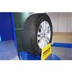2020年2月に発売する新たなSUV用タイヤ「ラングラーATサイレントトラック」も展示されていた。