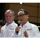 ラリーへの出走経験も多いトヨタの豊田章男社長は、この日も熱く語り続けた。